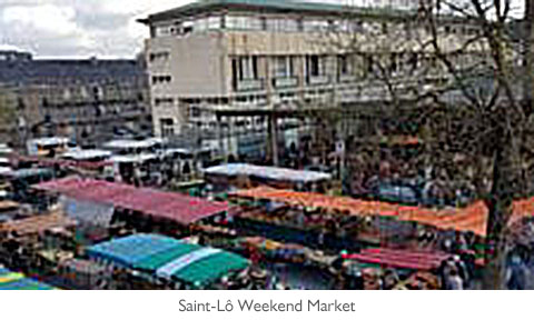 Saint-Lô Weekend Market